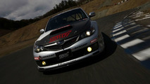 Subaru Impreza STI in action on Nurburgring shakedown