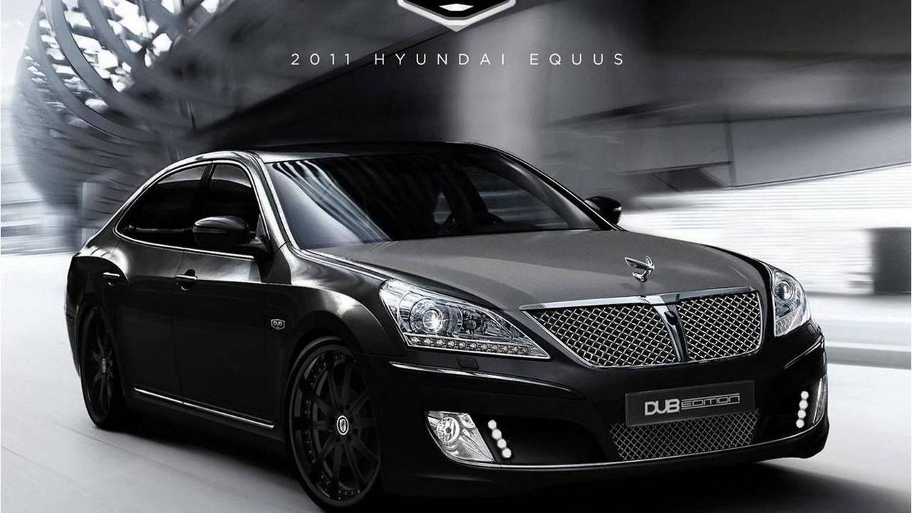 Hyundai Equus DUB Edition for SEMA 2010