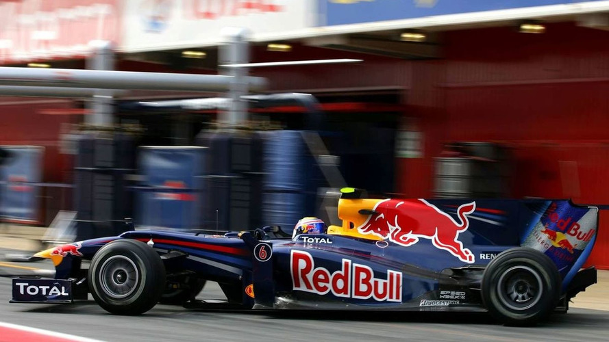 Red Bull gets early test start at Barcelona