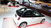 Abarth 500C and Punto Evo Live in Geneva