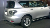 2010 Nissan Patrol leaked photos