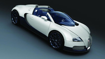 Bugatti Veyron special editions on display in Shanghai