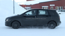2012 Mercedes-Benz B-Class spied at arctic circle