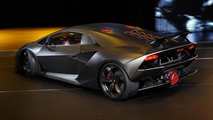 Lamborghini Sesto Elemento Concept live in Paris 29.09.2010