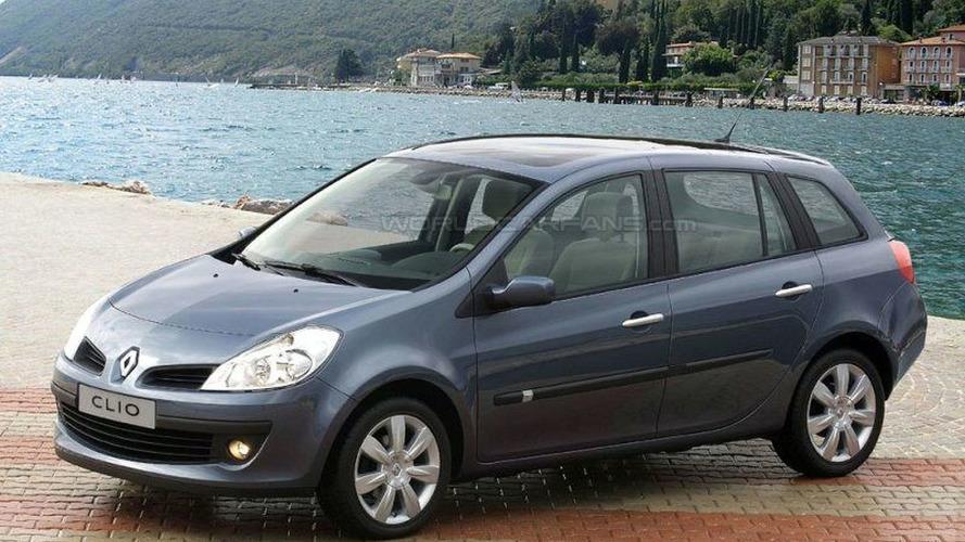 SPY PHOTOS: Renault Clio Estate