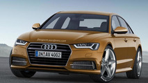 2016 Audi A4 rendered with evolutionary styling