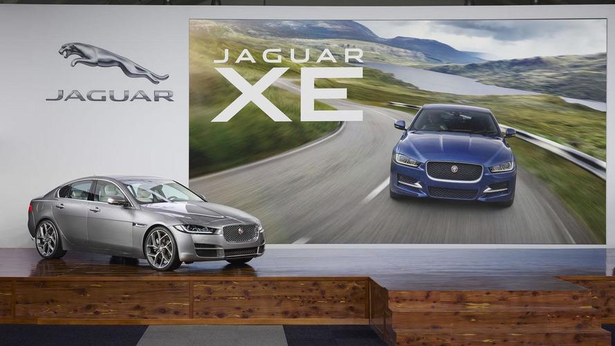 2016 Jaguar XE arrives in Detroit