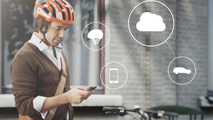 Volvo to introduce a cyclist anti-collision warning system at CES [video]