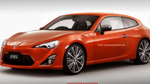 Toyota GT86 Shooting Brake render