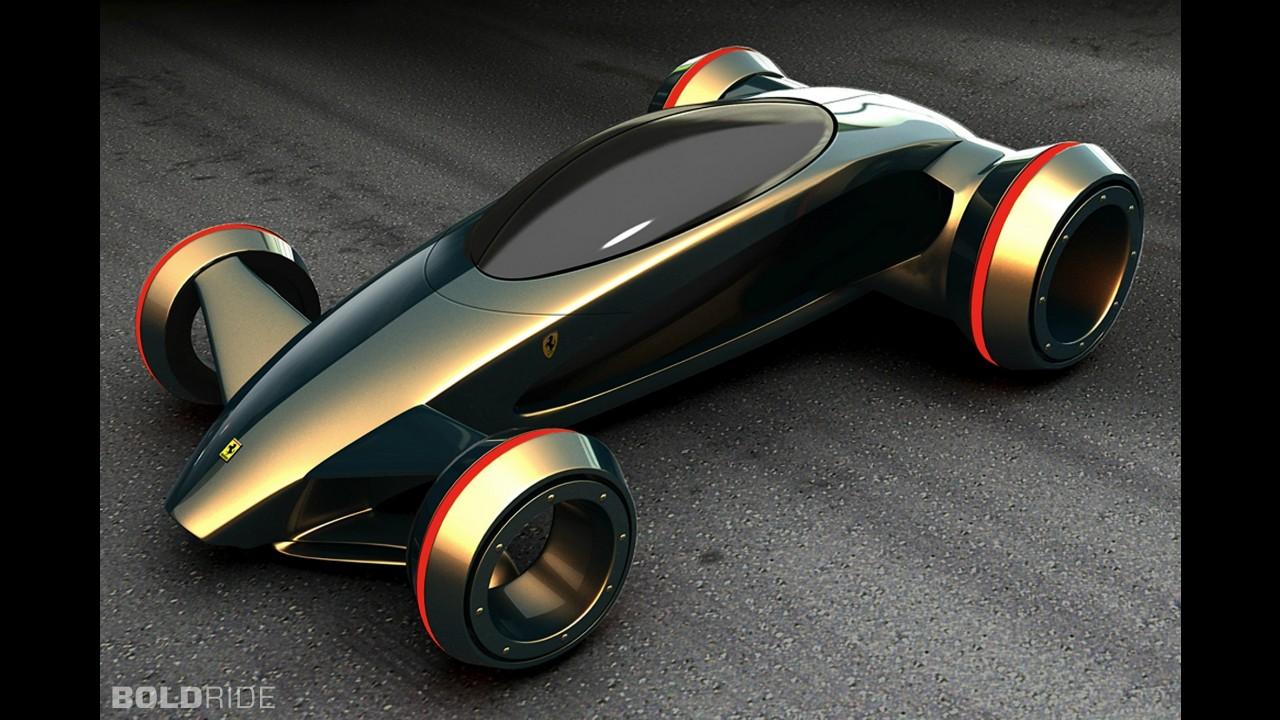 Ferrari Future Concept by Kazim Doku