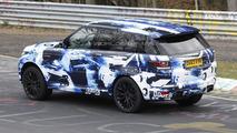 Ranger Rover Sport RS spy photo