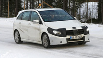 2015 Mercedes-Benz B-Class facelift spied with minor changes
