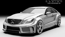 MEC Design previews Mercedes-Benz E-Class W207 widebody kit