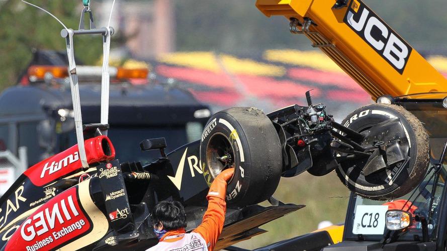 Raikkonen denies crash due to fading motivation