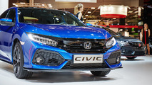 2017 Honda Civic debuts in Paris with two VTEC turbo engines