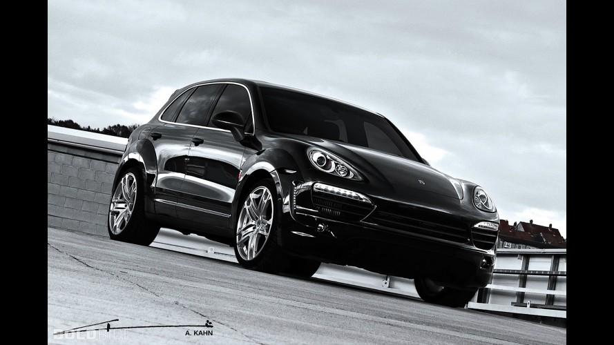 A. Kahn Design Porsche Cayenne Wide Track