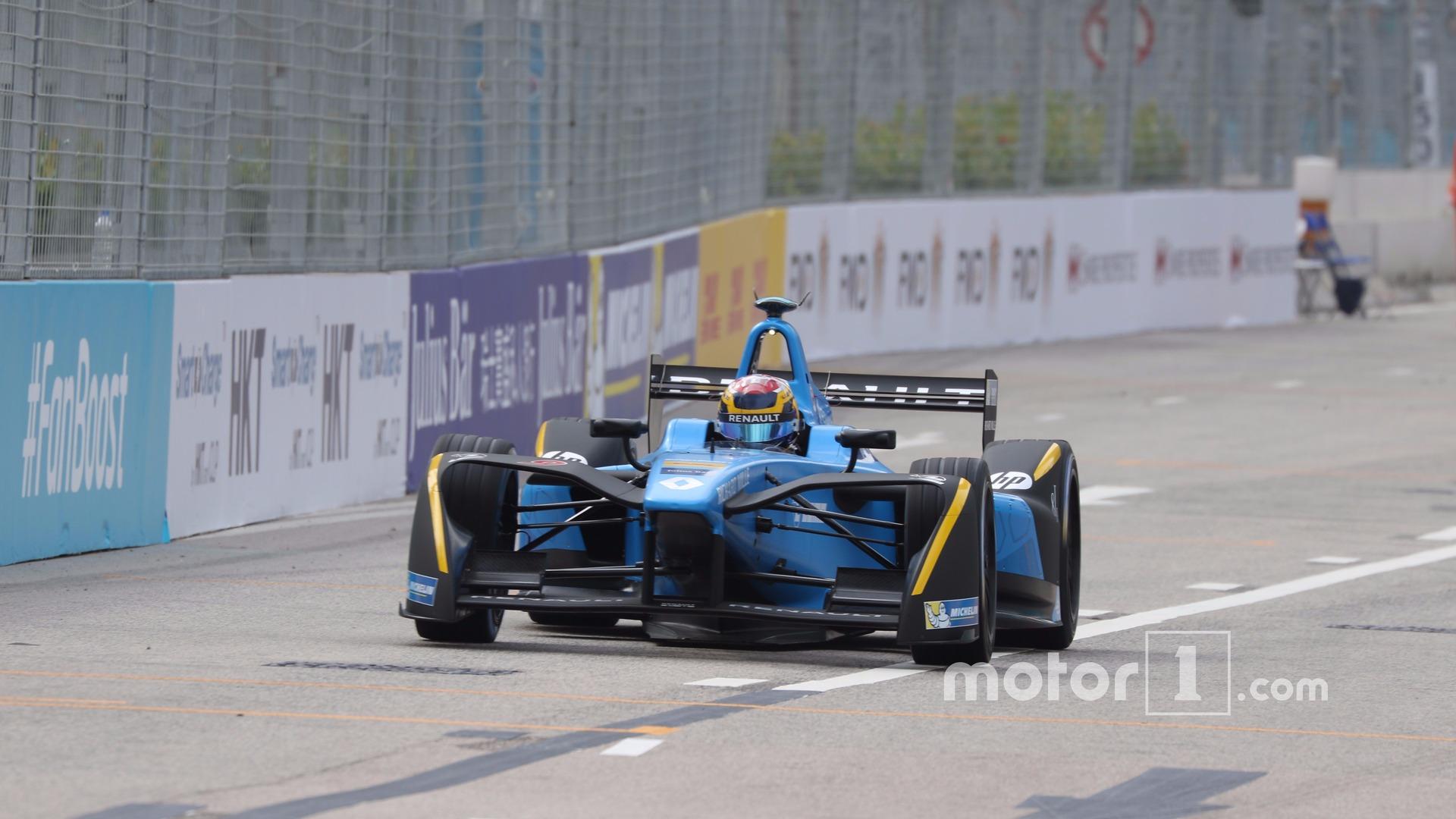 2016 Formula E Hong Kong ePrix - Race Results