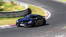 Mercedes-AMG GT R stalked in and around the 'Ring