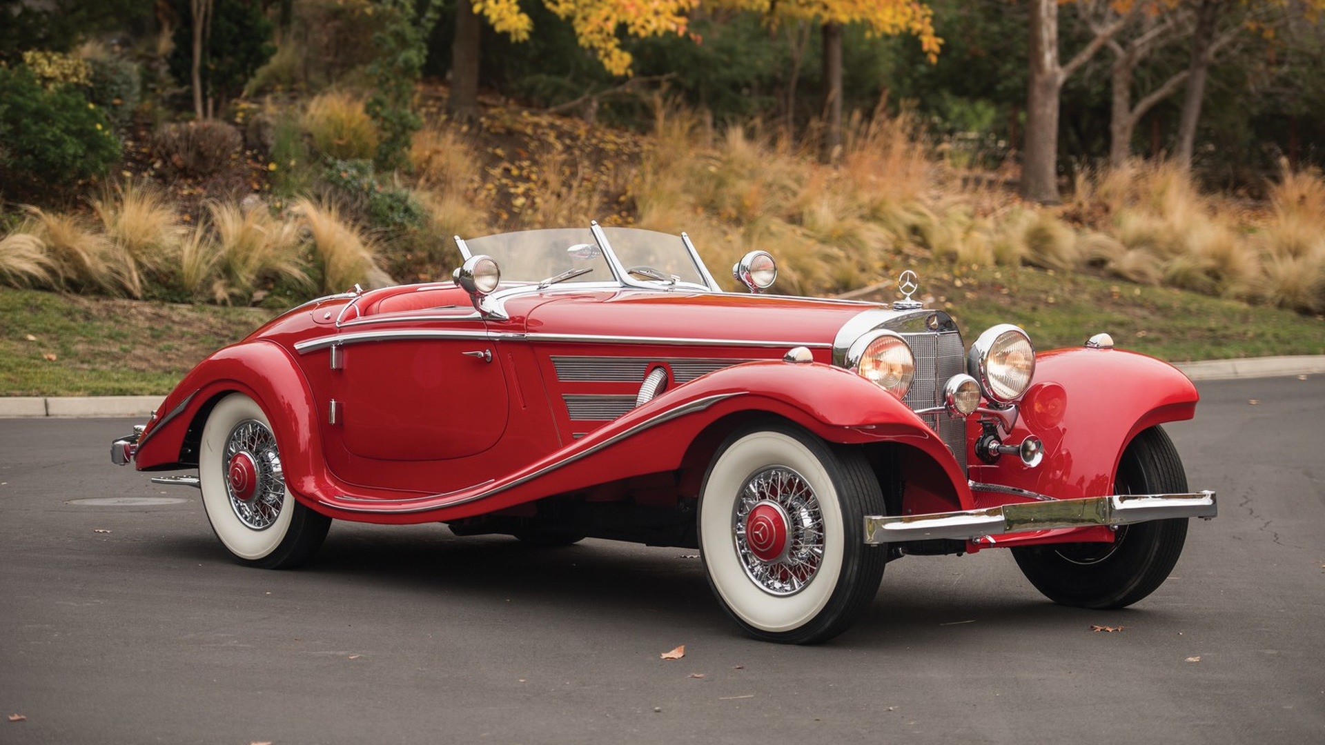 1937 Mercedes roadster sells for $9.9M