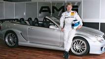Mika Häkkinen drives Mercedes CLK DTM AMG Cabriolet