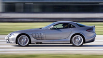 Mercedes-Benz SLR McLaren set London Land Speed Record