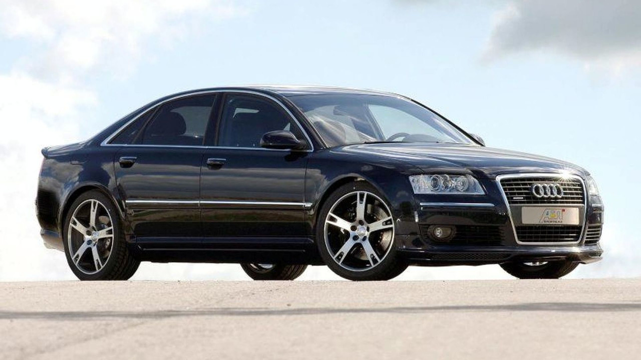 Audi A8 Front Spoiler Lip by Abt