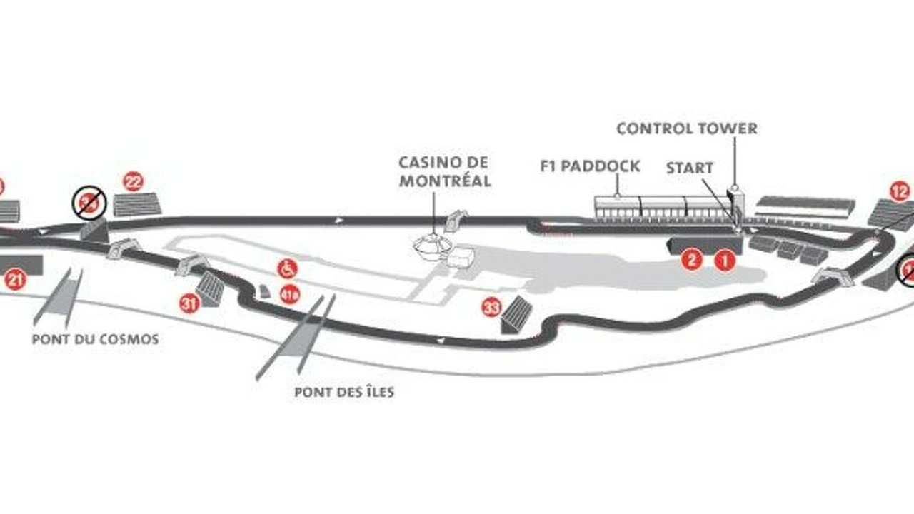 current Canadian GP track