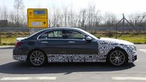 2015 Mercedes-Benz C63 AMG sedan spy photo