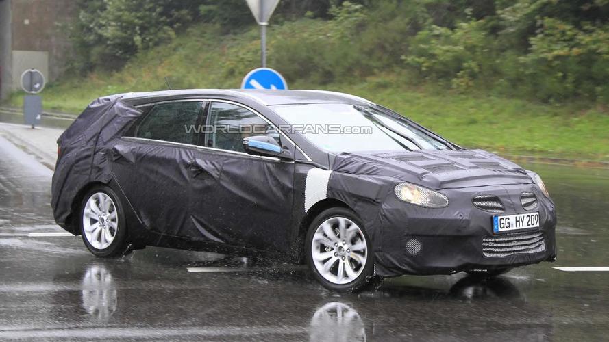 2012 Hyundai Sonata / i40 Wagon spied