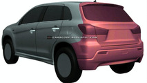 Mitsubishi Compact Crossover Design Illustrations Uncovered