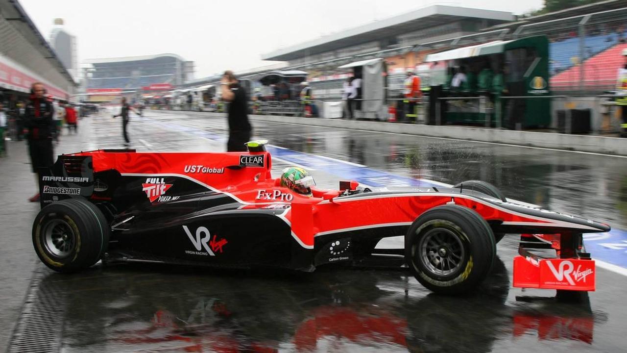 Lucas di Grassi (BRA), Virgin Racing, German Grand Prix, Friday Practice, 23.07.2010 Hockenheim, Germany