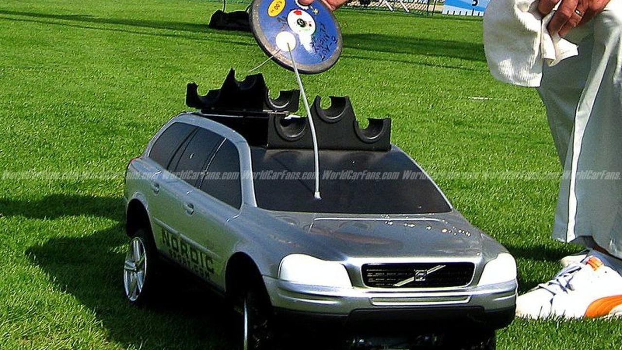 Mini Volvo XC90: 1:5 Scale model