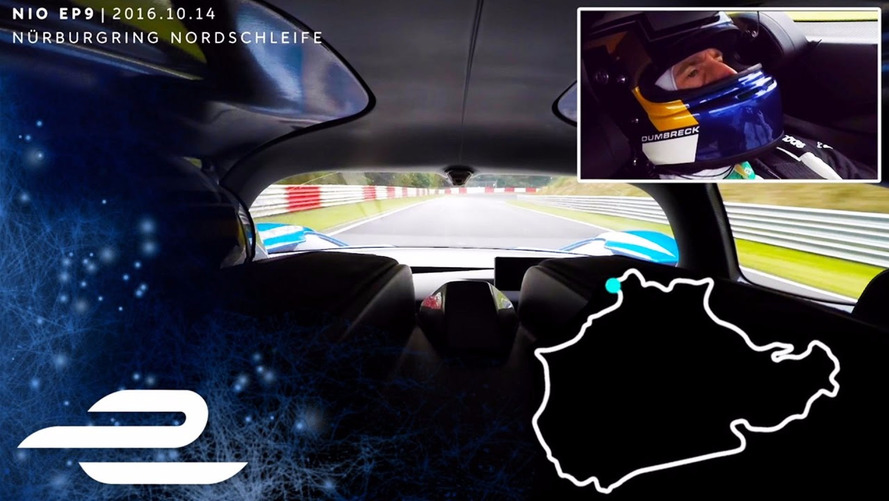 Nio EP9 Owns The Nurburgring In Full Onboard Video Of Record EV Lap
