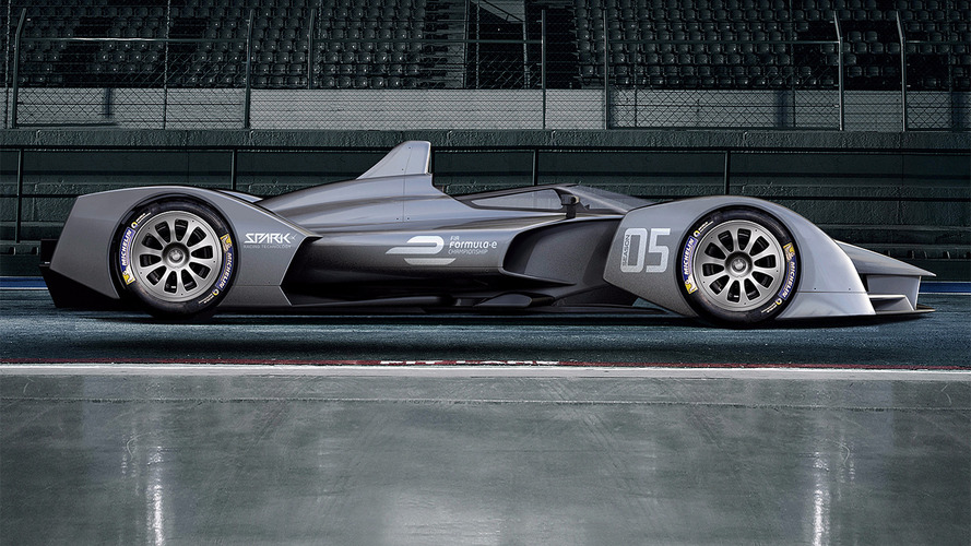 Future Formula E cars could look like this