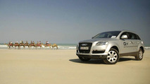 Audi Q7 Trans-Continental Crossing Completed (AU)