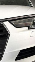 New Audi A4 spied showing headlights design, dashboard fully exposed