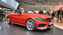 Mercedes C-Class Cabrio goes topless in Geneva