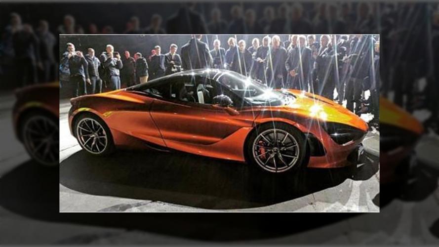 McLaren P14 in Volcano Orange leaks out