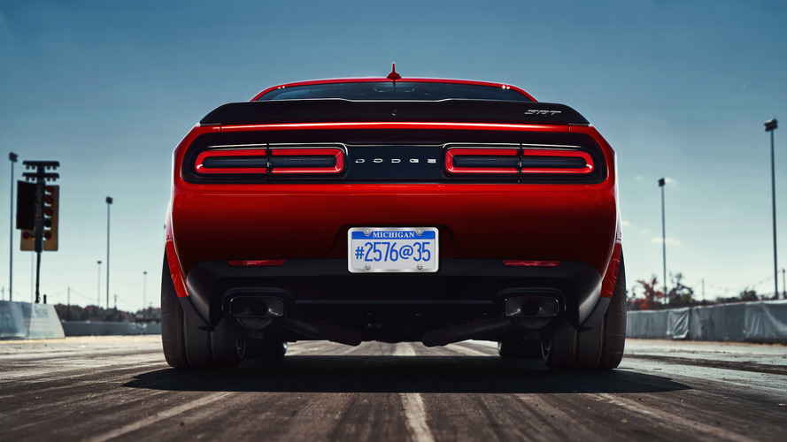 Dodge Challenger Demon gets wide-body kit, drag radials