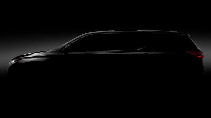 Here's our first 'look' at the new 2018 Chevrolet Traverse
