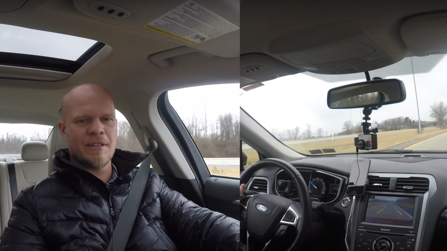 What happens when you shift a modern car into Reverse while driving?