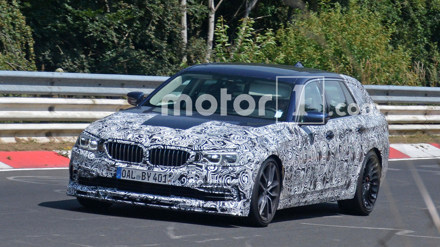 Alpina B5 speeds around the 'Ring ahead of 5 Series debut
