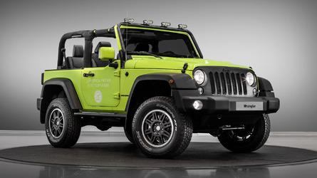 Jeep Wrangler Rubicon and Renegade receive Mopar treatments for Paris