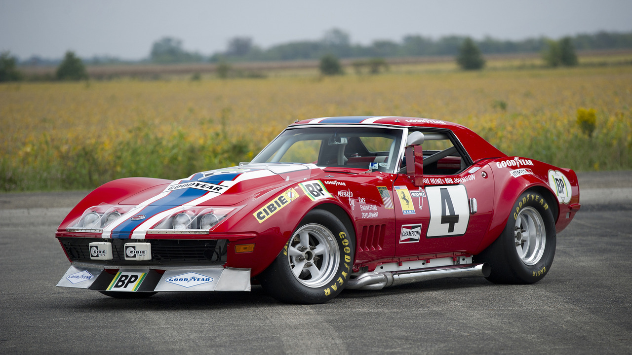 1968 Honda Civic >> The Corvette that masqueraded as a Ferrari to race at Le Mans