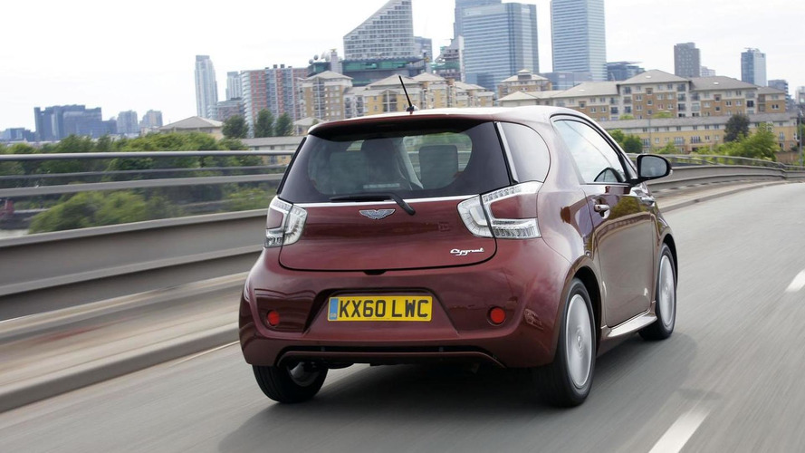 Aston Martin Cygnet will be offered in Japan & Hong Kong