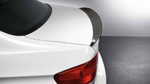 BMW Performance carbon fiber aerodynamic accessories for M3