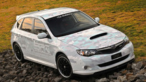 2009 Impreza WRX 5-door SPT at SEMA 2008