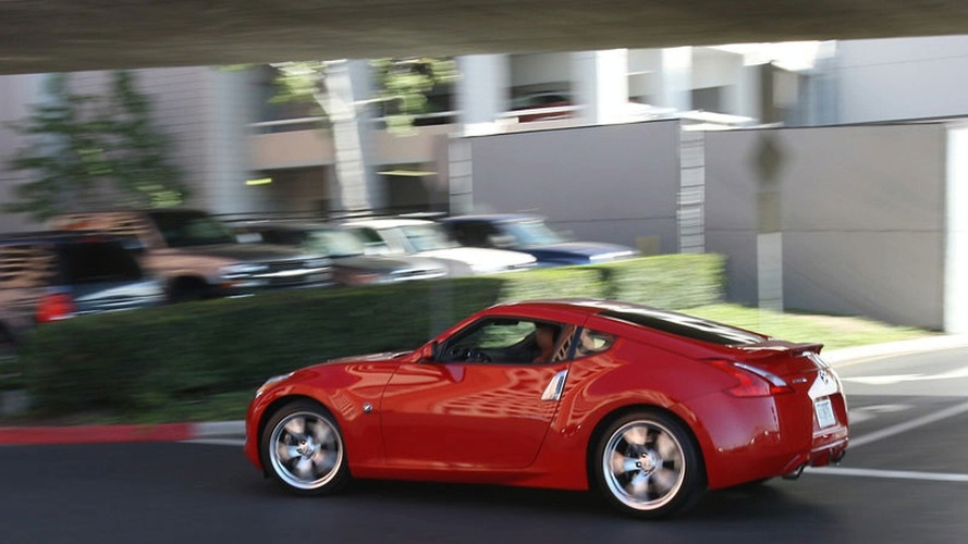 Nissan 370Z Photographed on the street in Los Angeles