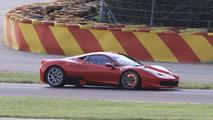 Ferrari 458 Challenge spy photos, Fiorano test Circuit, Italy, 02.08.2010