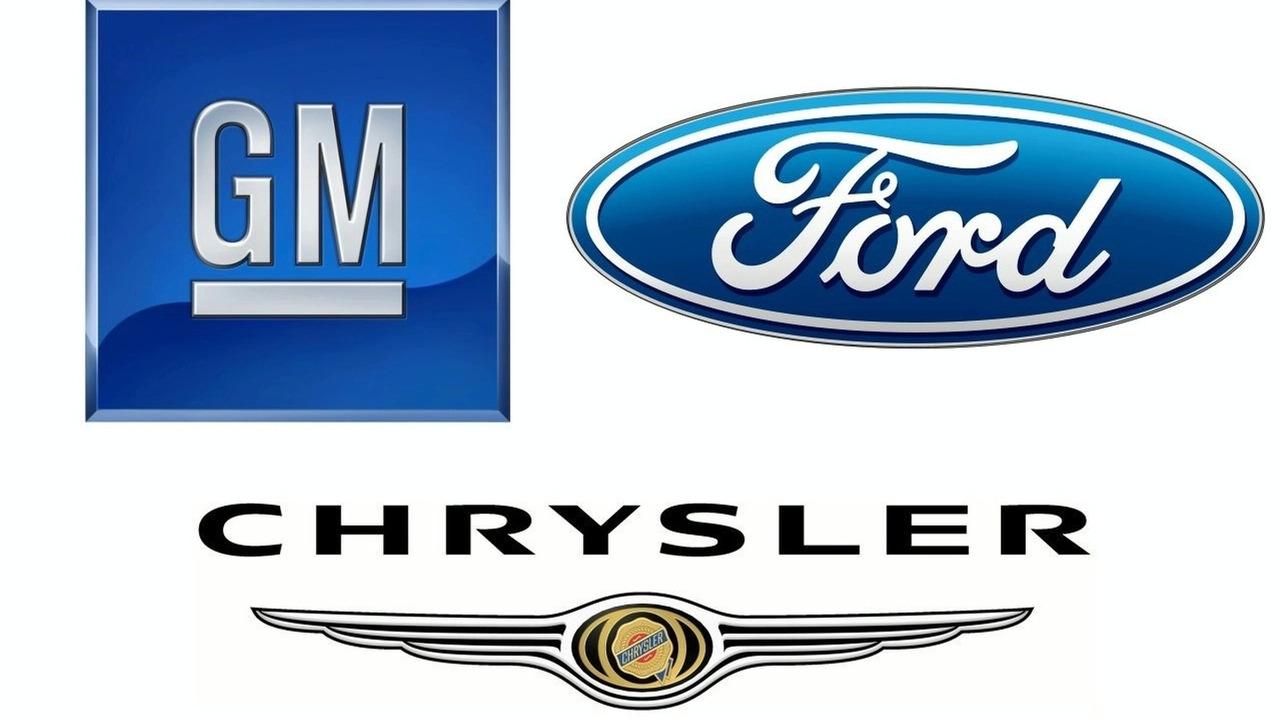 GM, Ford, Chrysler